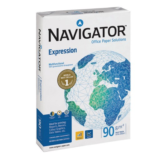 A4 Navigator premium 90gsm white