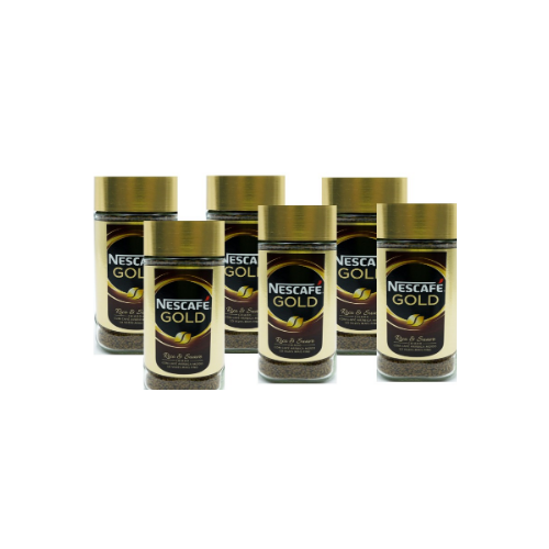 Nescafe Gold Coffee 200gsm Pack 6