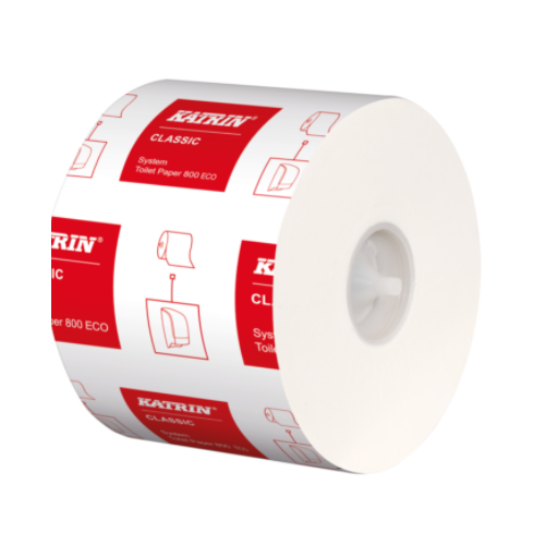 Katrin Classic System Toilet 800 Roll Pack 36
