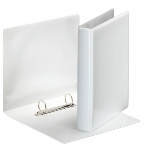 A5 Pres 2D Binder 25mm White Bxd 10