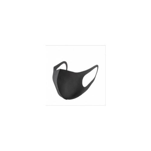 Re-usable Face Mask Black Polyurethane