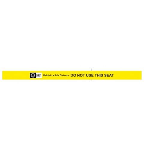 Coronavirus Seat Graphic COSEAT3V