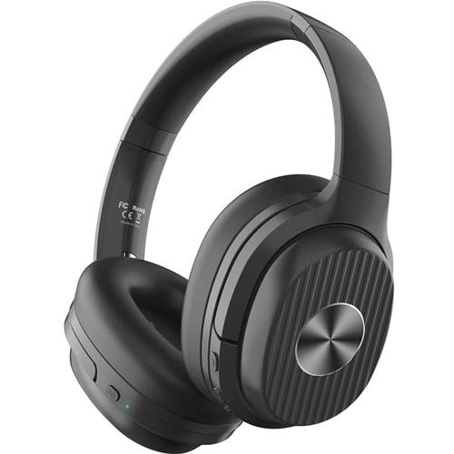 Eksa E5 Active Noise Cancelling Bluetooth Headphones - Black (In Stock)
