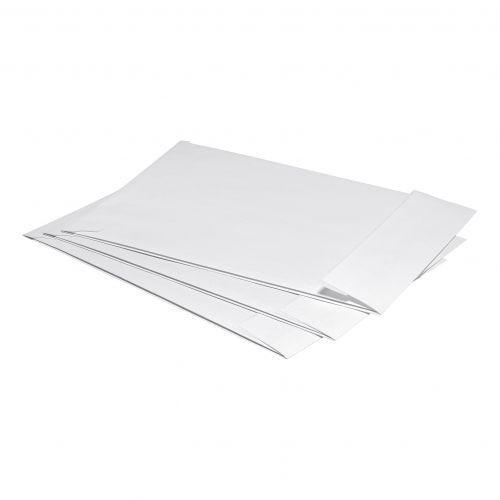 5 Star Office Envelopes C4 Gusset 25mm Peel and Seal 120gsm White Pk 125