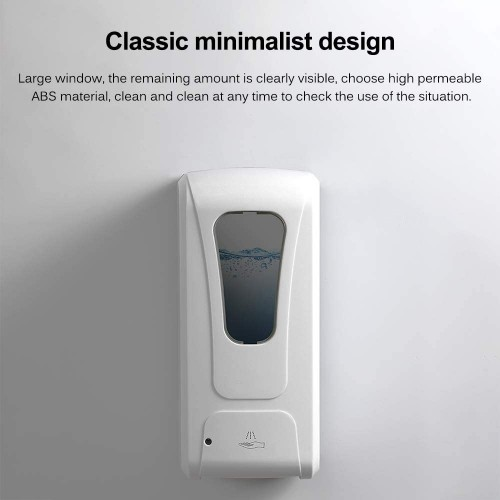 Automatic Soap/Sanitiser Dispenser - 1000ml Wall Mounted Soap Lotion Pump with IR Sensor - IN STOCK