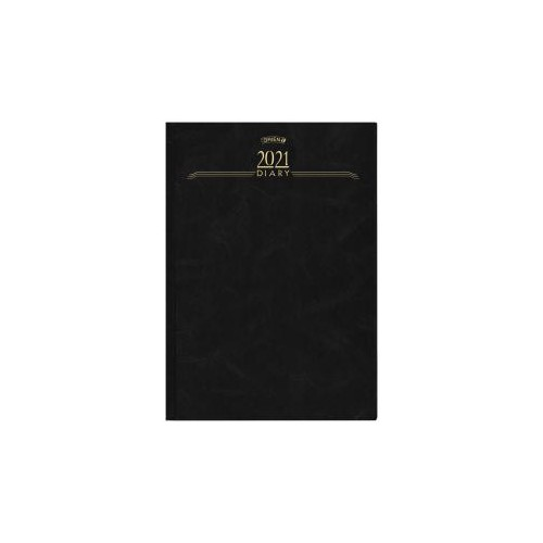 OBrien A4 Day Per Page 2021 Hardback Diary - In Stock
