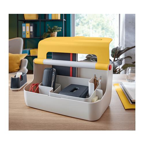 Leitz Cosy Storage Carry Box - Yellow