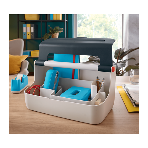 Leitz Cosy Storage Carry Box - Grey