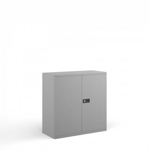 Bisley Executive Low Cupboard (Grey)