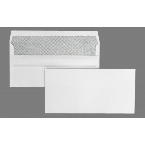 DL 110x220mm Kestrel White 100gsm Opaqued Self Seal Wallet 500 Pack