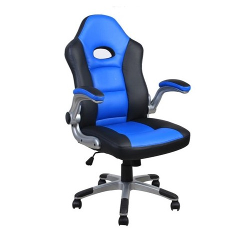 Alphason Racing Style Chair-Blue and Black