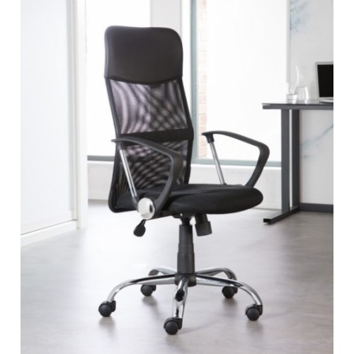 Orlando Mesh Chair-Black