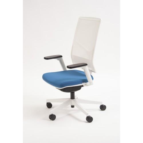 Rayl High Back Mesh Swivel Task Chair White