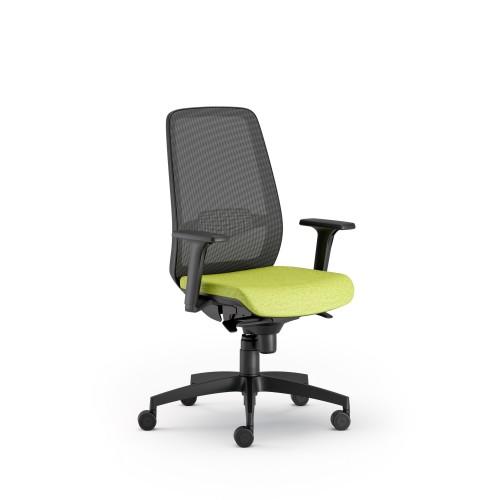 Tona High Back Mesh Task Chair - Black
