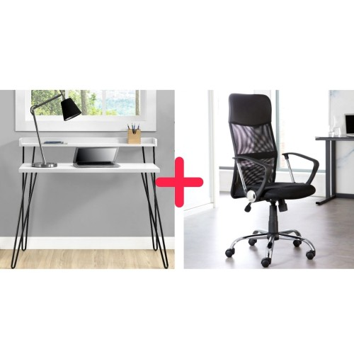 Home Office Desk and Chair Bundle