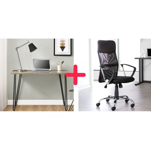 Home Office Desk and Chair Bundle 3