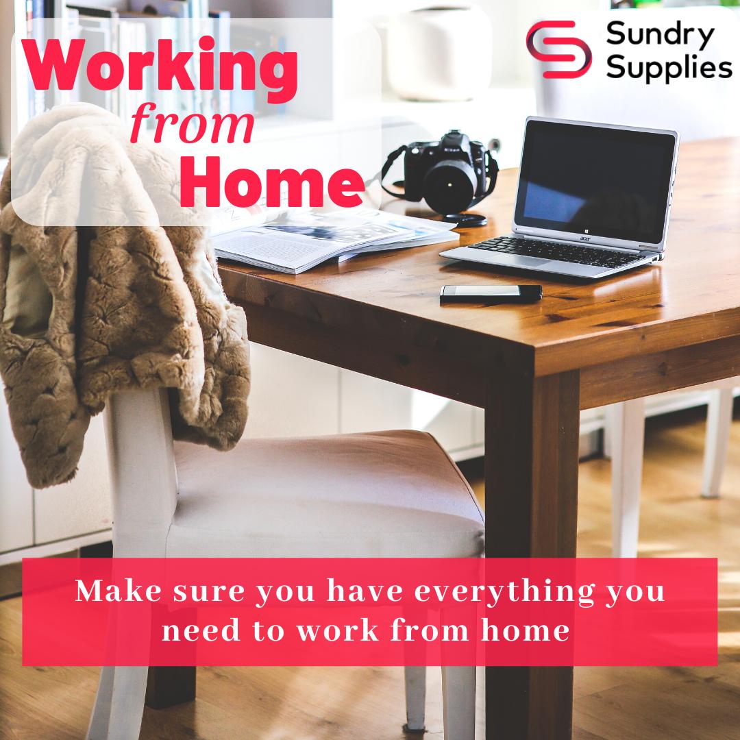 Home Working Essentials
