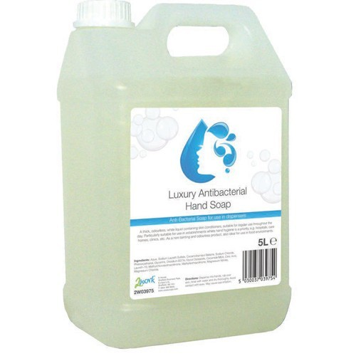Bacterial Hand Soap (Case 2x5Litre Btl)