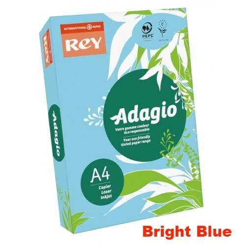A4 80gsm Bright Blue Paper (500 Sheets)