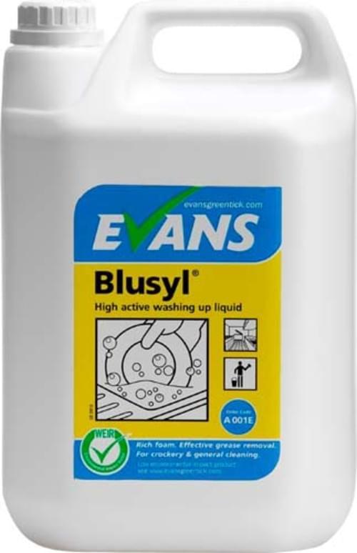 Evans Vanodine High Active Washing Up Liquid 2 x 5 litre