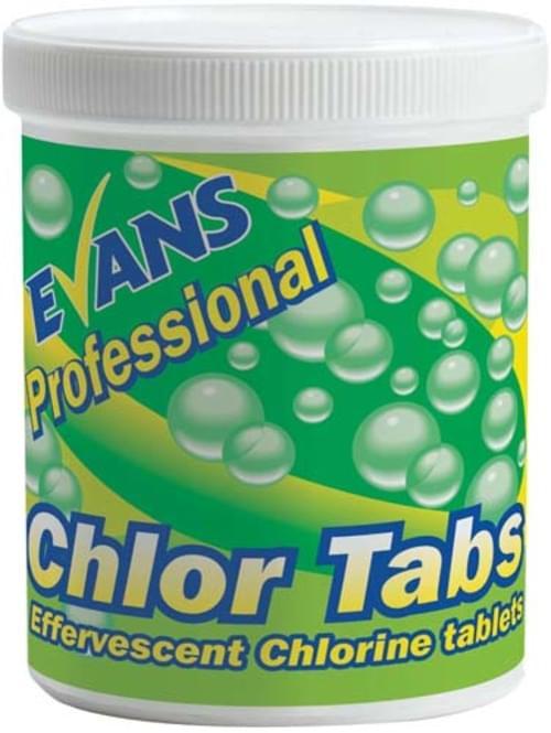 Evans Vanodine Effervescent Chlorine Tablets 6 x 200 Tablets
