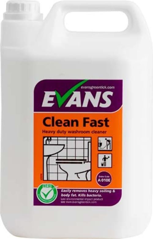 Evans Vanodine Heavy Duty Washroom Cleaner 2 x 5 litre