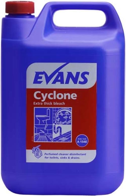 Evans Vanodine Extra Thick Bleach 2 x 5 litre
