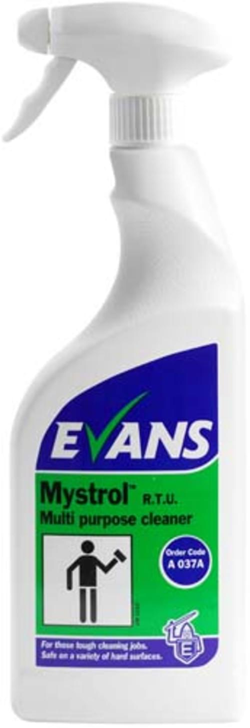 Evans Vanodine Concentrated All Purpose Cleaner 6 x 750 ml
