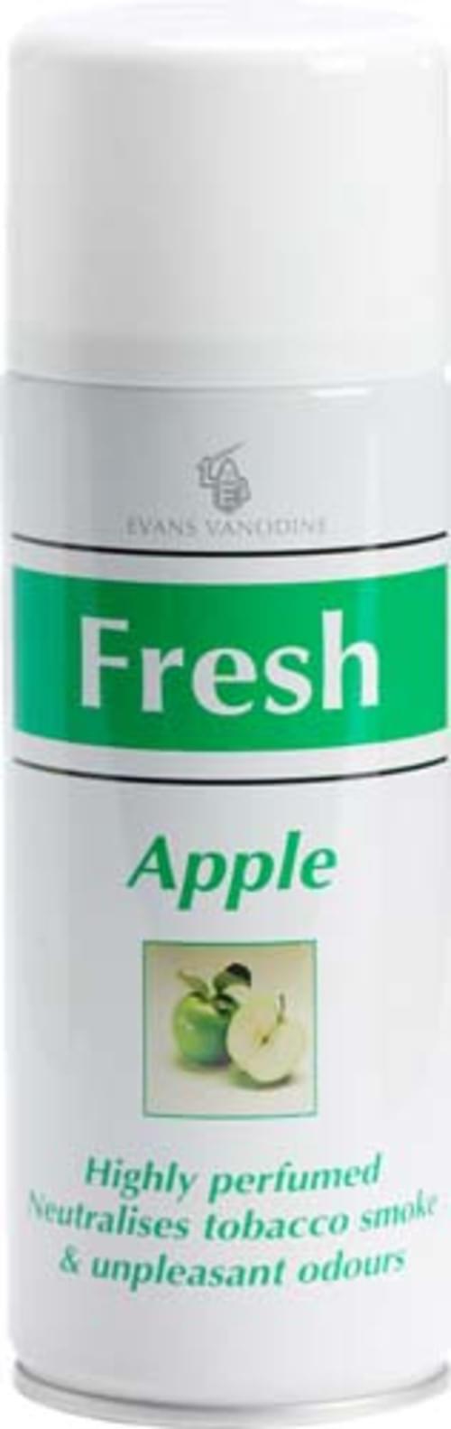 Evans Vanodine Air and Fabric Freshener Apple 12 x 400 ml