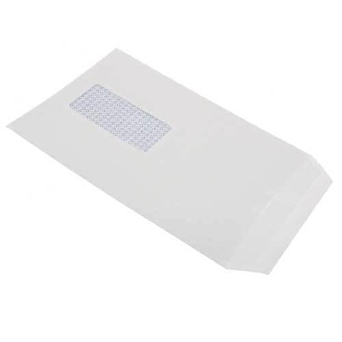 C5 White Window envelopes x 500