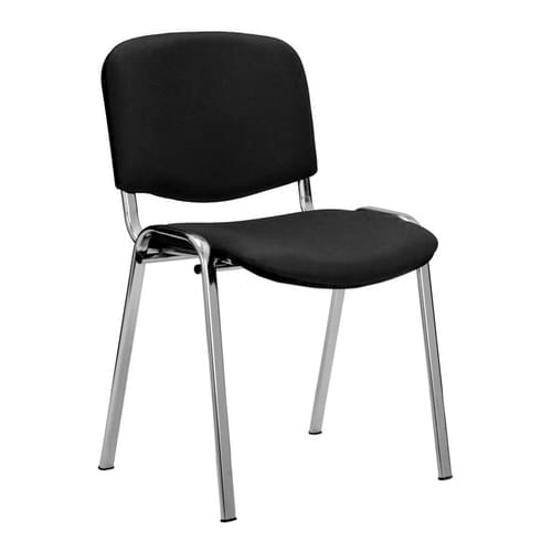 Chrome Framed Stackable Conference/Meeting Chair - Minimum Order Quantity -10