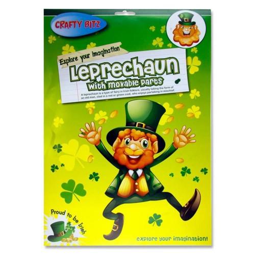 Leprechaun Masks - Pack of 10