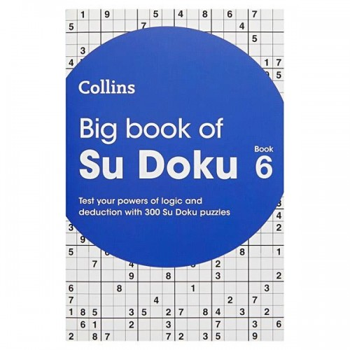 Collins Big Book Of Sudoku - Book 6