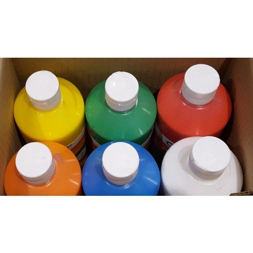 Creall Poster Paint 500ml x 6