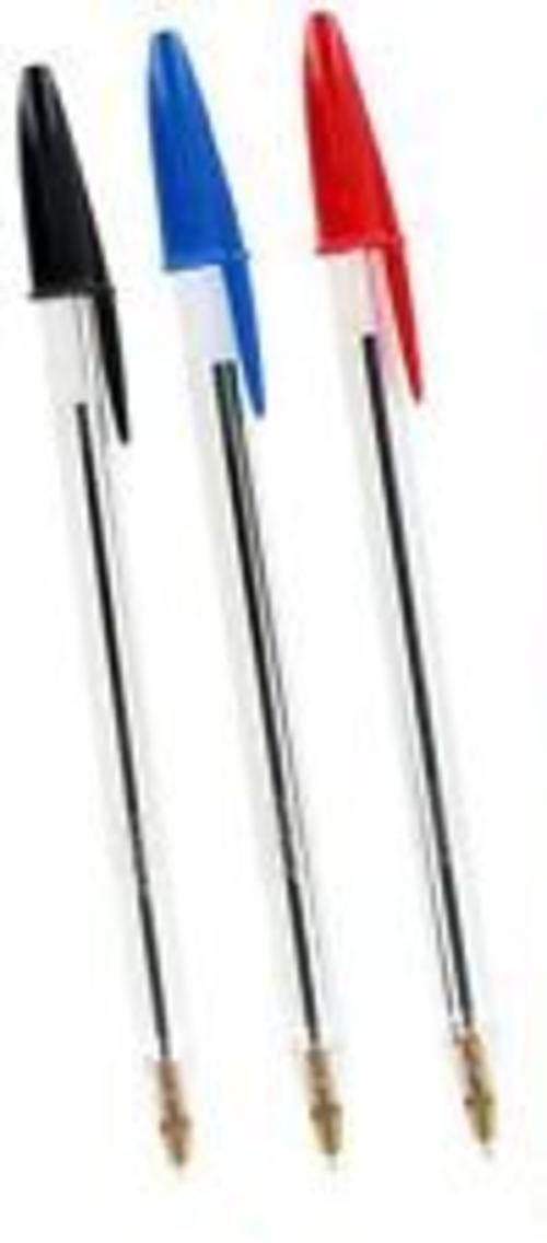 Bic Medium Biros - Pack Assorted Colours