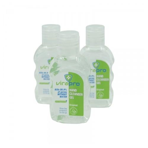 ViraPro 50ml Alcohol Gel Hand Sanitiser 70% Alc
