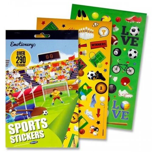 290+ Sticker Book - Sports