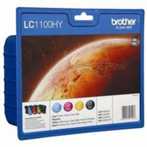 Brother LC1100 HY Value Pack