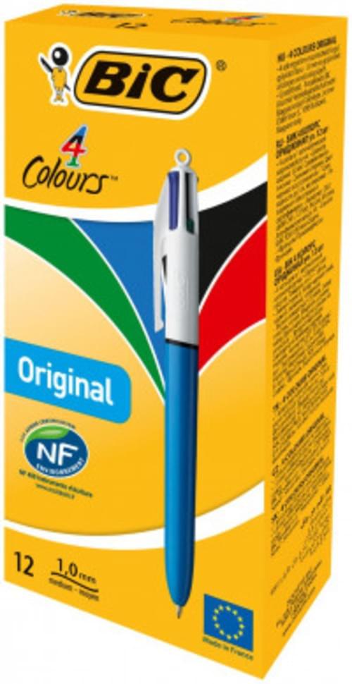 Bic 4 Colour Ball Point Pen