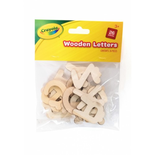 Crayola Wooden Letters