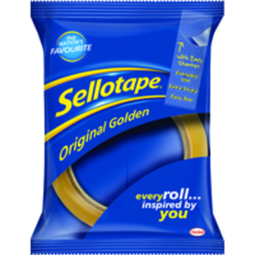Sellotape Golden Tape 24mmx66m