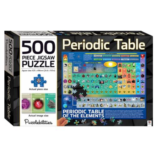 500 Piece Jigsaw - Periodic Table