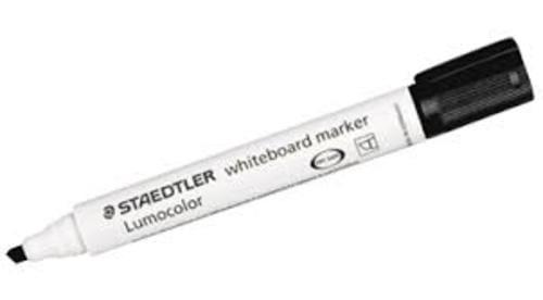 Staedtler Lumocolor Whiteboard Markers Black Chisel