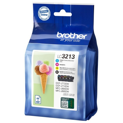 Brother LC3213 Value Pack KCMY