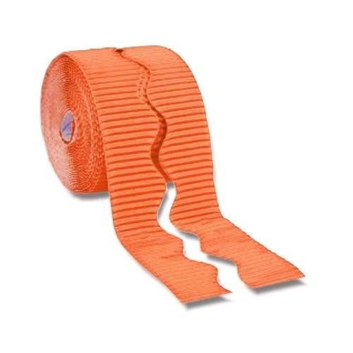 Bordette® Plain Scalloped Edge Orange