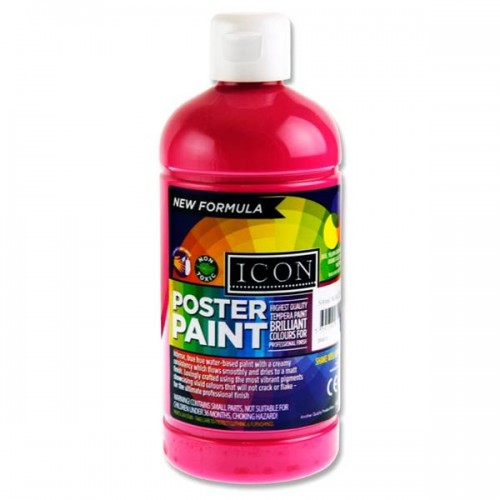 Poster Paint 500ml - Bright Pink