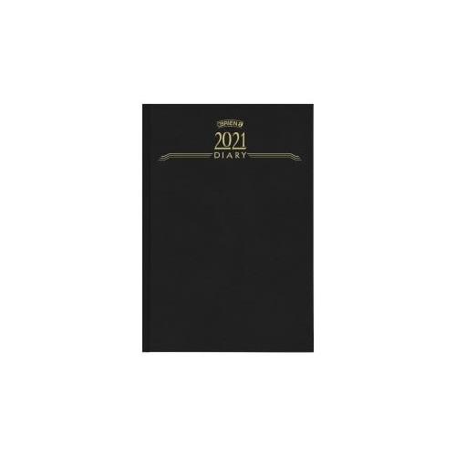 O'Briens A5 Day per Page Diary 2021