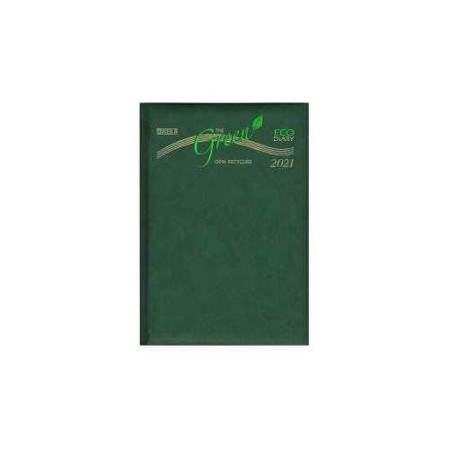 O'Briens A5 Day per Page Diary - Recycled 2021