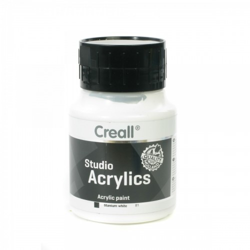 Creall White Acrylic Paint