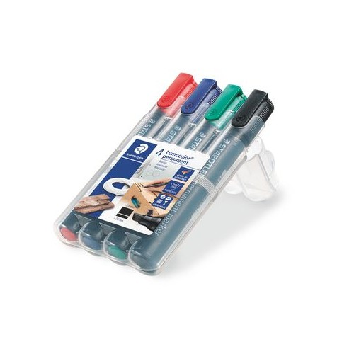 Staedlter Permanent Markers 4s